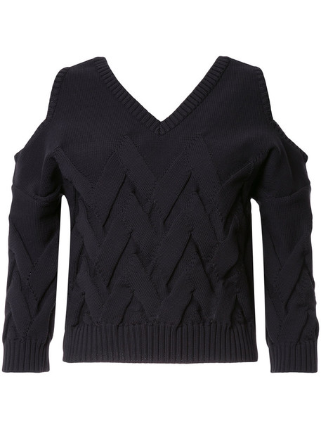 Aula jumper women cold black sweater
