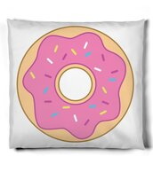 home accessory,donut,pillow,food,funny,home decor,dorm room,college