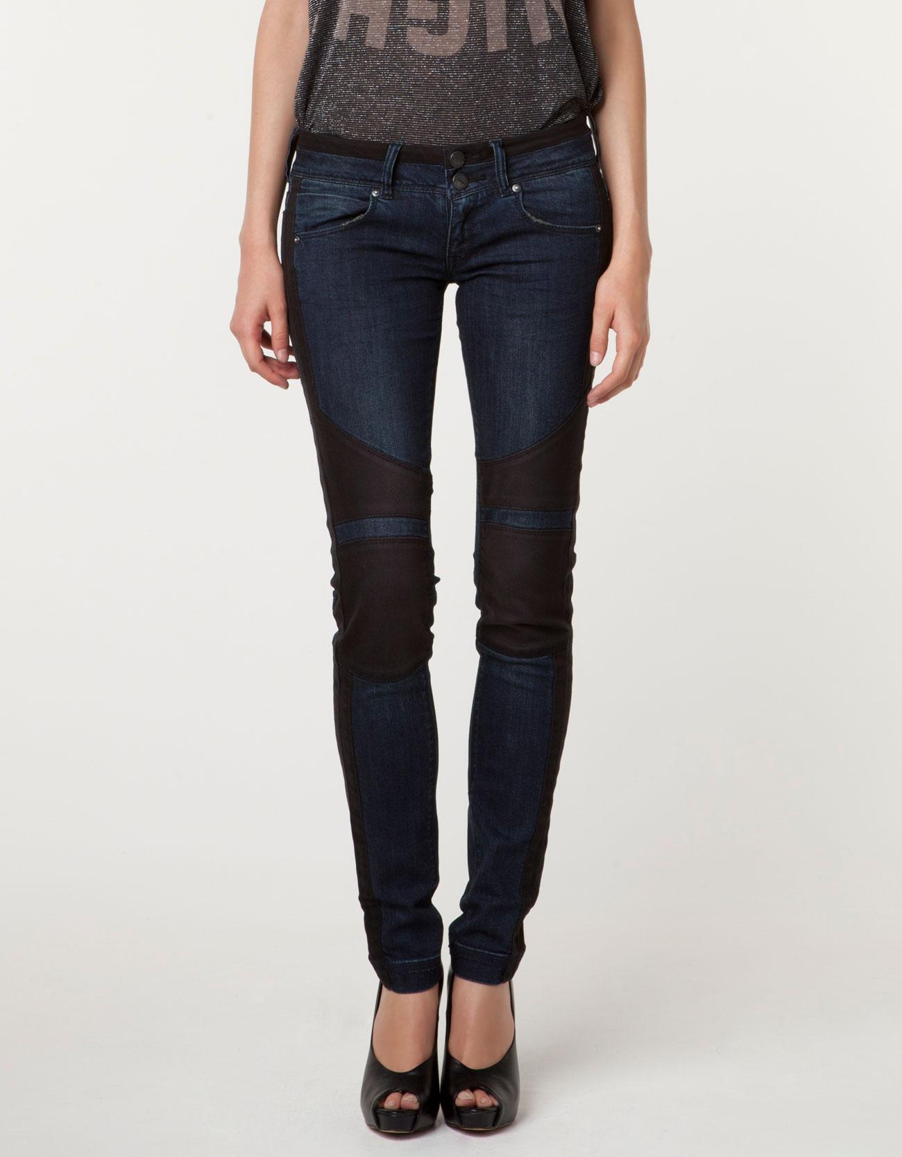Jeans bershka bicolore
