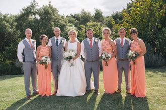dress molly_bridal peach dress