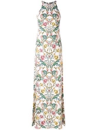 dress print dress women spandex floral white print