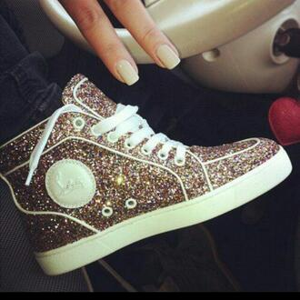 shoes sparkly shoes sneakers