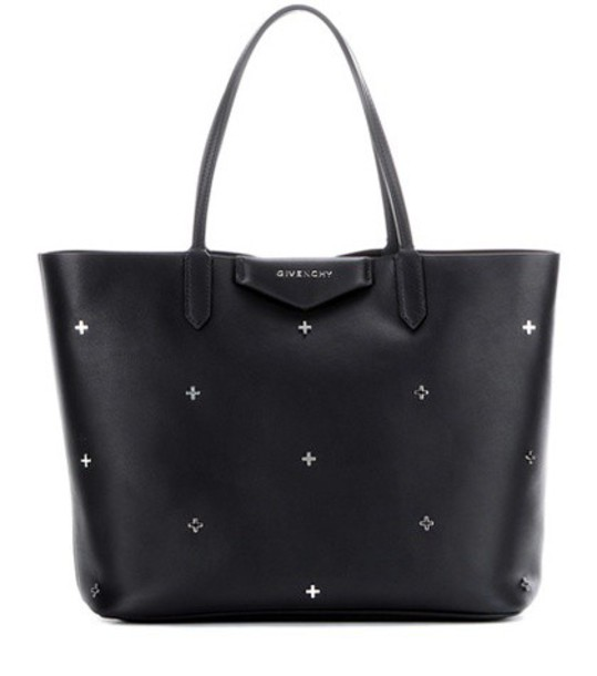 Givenchy embellished leather black bag