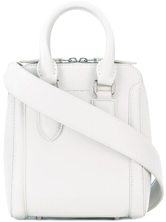 women bag tote bag leather white