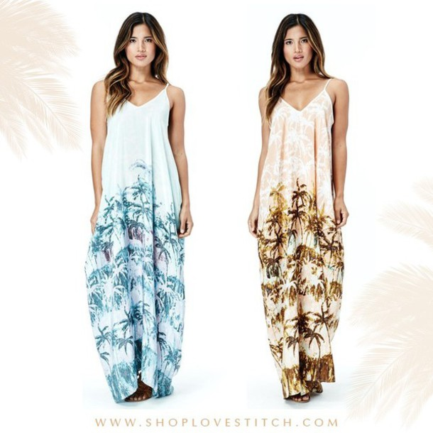 dress lovestitch maxi dress beach dress summer dress