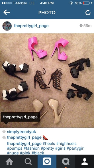 shoes black heels pink pink shoes heels pumps pretty girly party shoes nude high heels nude nude pumps toes out