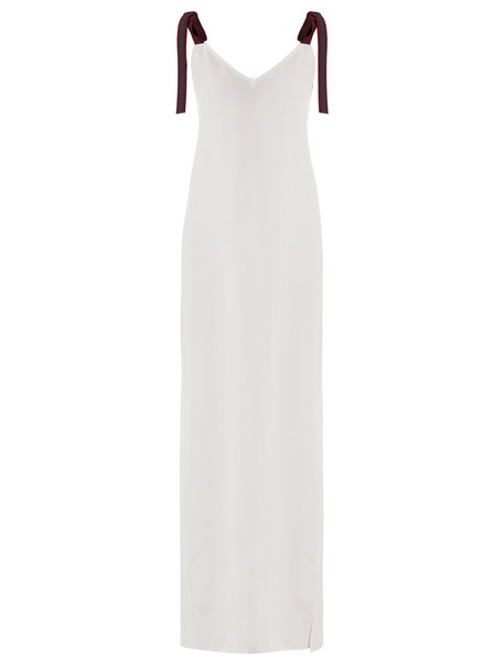 ALBUS LUMEN dress maxi dress maxi back white