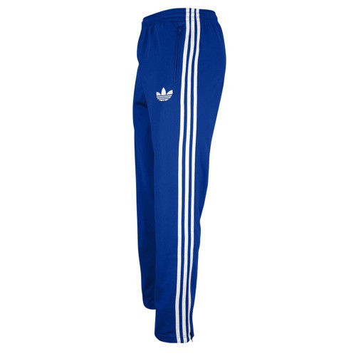 Adidas MENS Originals Firebird Blue White Track Suit Pants SZ 2XL