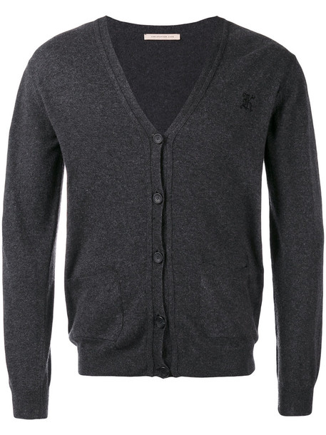 CHRISTOPHER KANE cardigan cardigan women unisex wool grey sweater