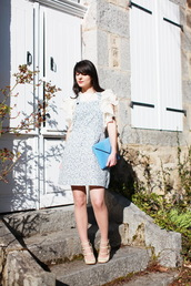 the cherry blossom girl,dress,bag,t-shirt,jewels,shoes