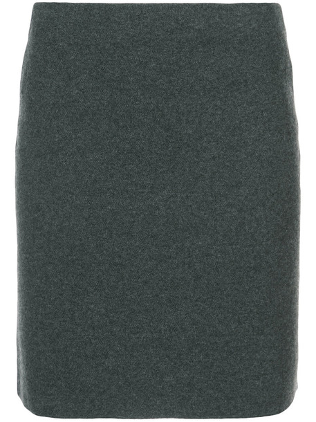 Ralph Lauren Collection skirt short women wool grey