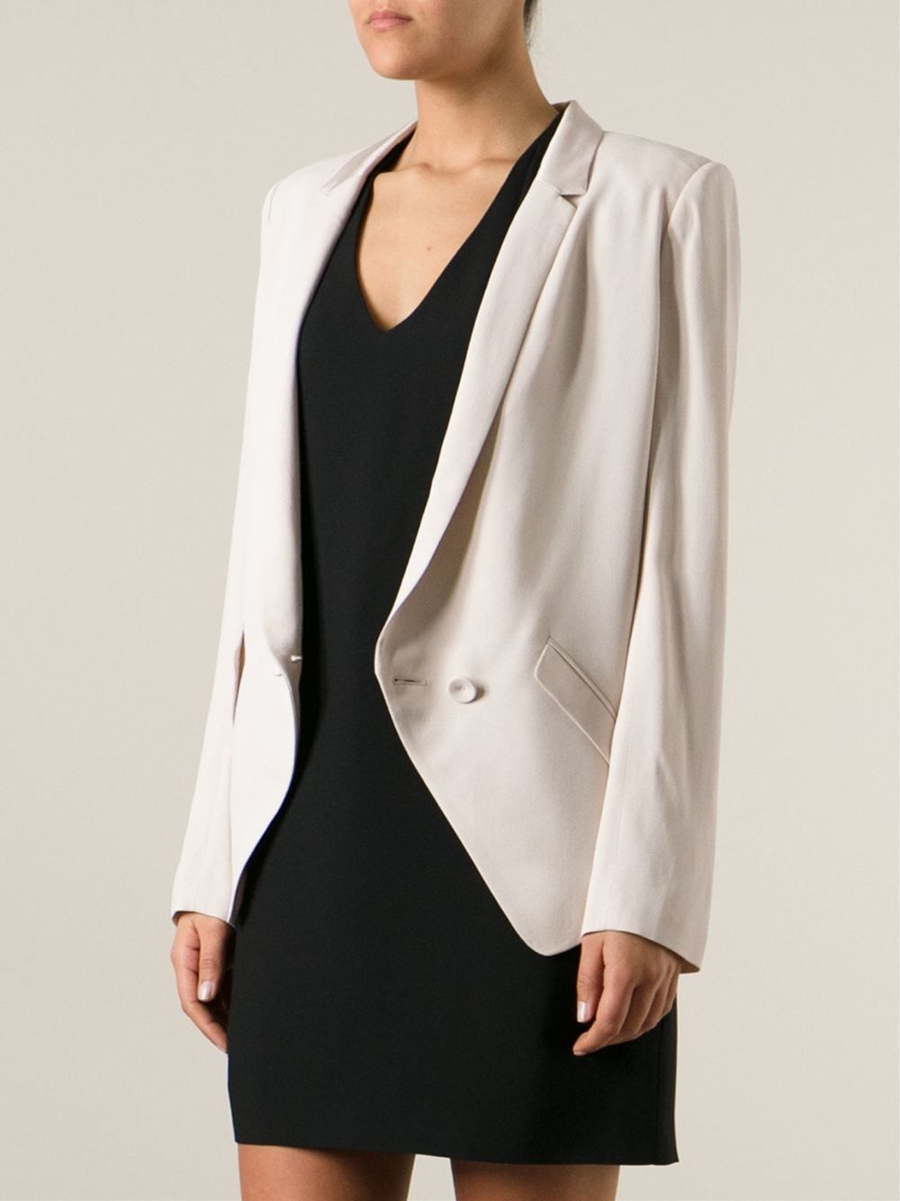 Vanessa Bruno Athé Double Breasted Jacket - Francis Ferent - Farfetch.com