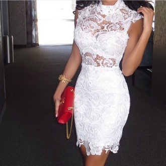 dress lace white white dress cute cute dress sexy hot hot dress lace dress sexy dress