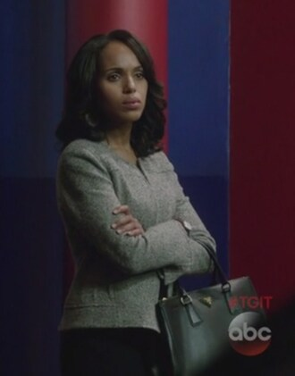 jacket scandal olivia pope grey kerry washington tote bag