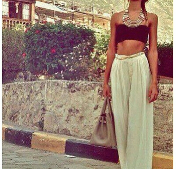 skirt maxi skirt bohemian boho bohemian pants long
