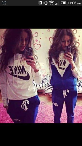 sweater nike tracksuit