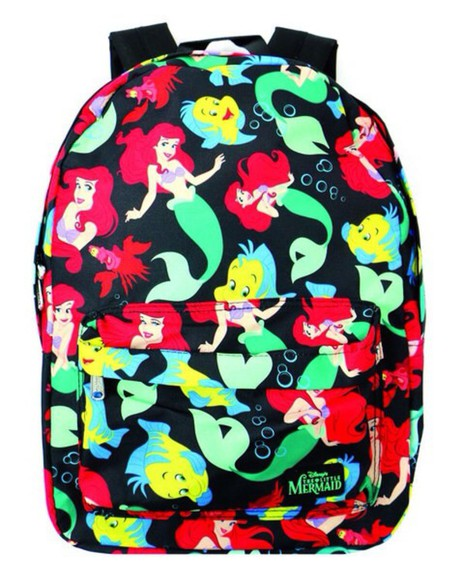 ariel the little mermaid bag backpack