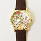 jewels,watch,handmade,stylef,ashion,vintage,etsy,freeforme,floral,flowers,summers,spring,father's day,fathers day,gift ideas,present