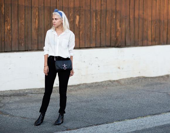 black boots blogger bag always judging jeans