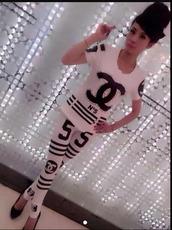 t-shirt,n5 cc suit