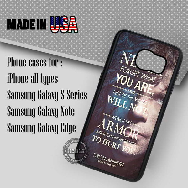 phone cover tyrion lannister quote