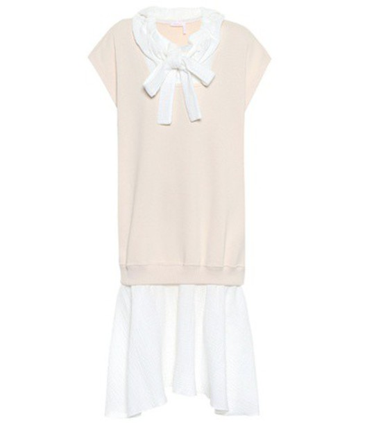 See by Chloe dress cotton pink