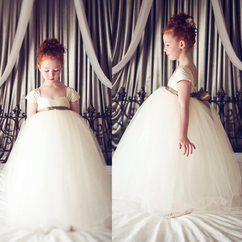 Discount 2015 flower girl dress cheap little girl formal online with $69.64/piece