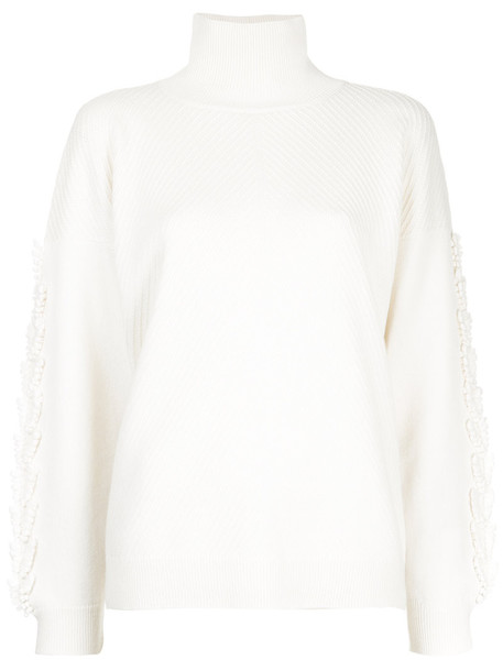 Barrie sweater oversized sweater oversized women white