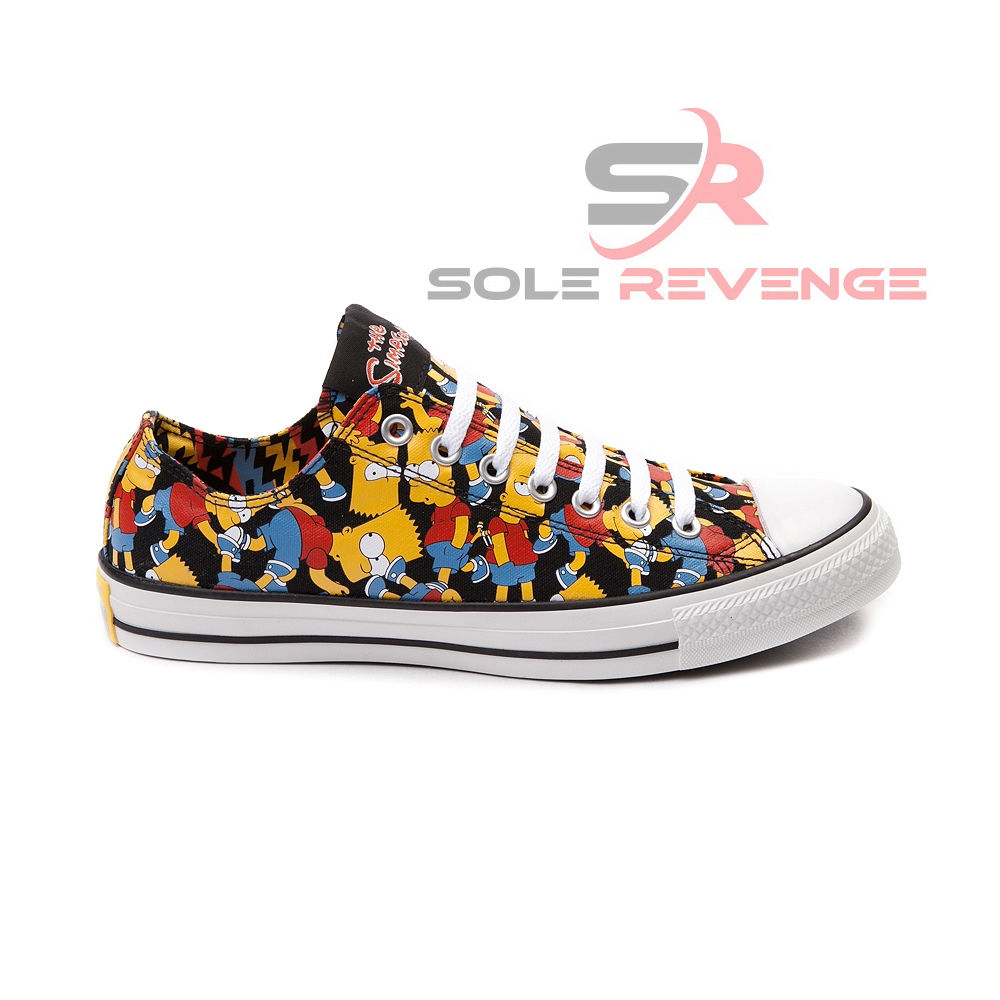 New!!! Converse THE SIMPSONS Bart All Star Low Homer All Star ...