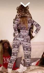jumpsuit,christmas,snowflake,norway,soft
