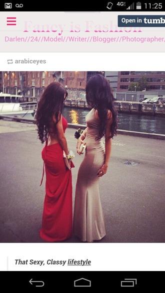 dress red dress long prom dress sexy prom dresses open back dresses slim dress trumpet/mermaid prom dress