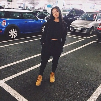 pants black cool swag black clothes
