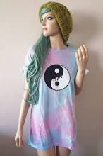 Melting Yin Yang Tie Dye T-Shirt