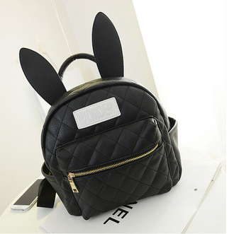 bag backpack bunny bunny ears bunny ears backpack kawaii kfashion korean fashion chinese fashion japanese fashion tokyo fashion easter quilted bag