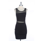 dress,sneak,peek,makeup table,vanity row,rock,vogue,mesh,sheer,little black dress,mini,fashion