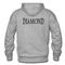 Diamond hoodie back