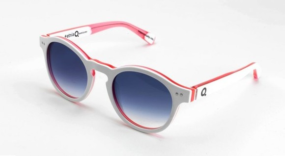 white sunglasses etnia barcelona