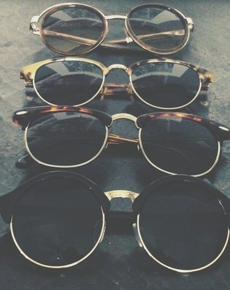 sunglasses beautiful brown sunglasses round sunglasses hipster glasses hippie glasses summer vintage cool gold vinatge cute edgy retro sunglasses aviator sunglasses