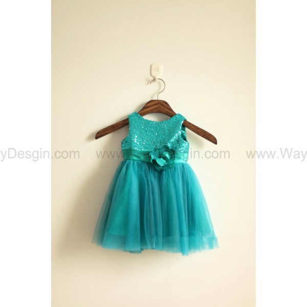 green sequin tulle flower girl dress green flower girl dresses