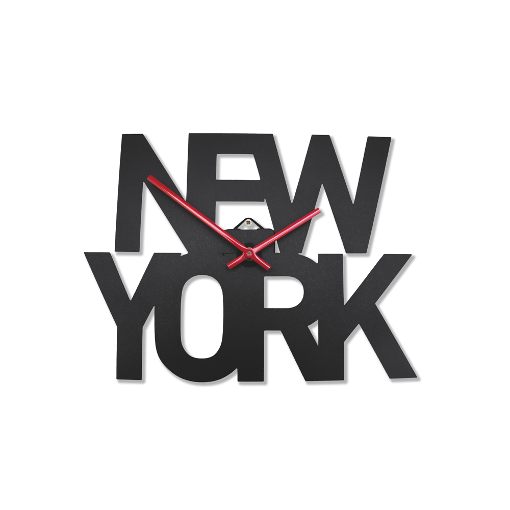 Wall clock new york image collections home wall decoration ideas new york wall clock 5495 gorgeous fun and quirky gifts for typographic new york wall clock amipublicfo Gallery