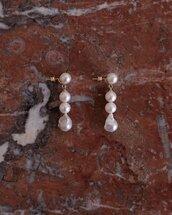 earrings,white earring,jewels