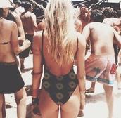 swimwear,summer,festival,hot,flowers,floral,indie,grundge,hipster