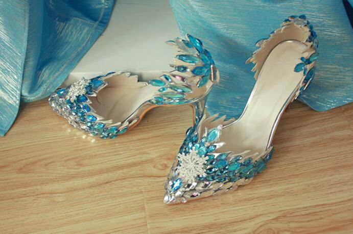 Handmade High Quality Frozen Queen Elsa Cosplay 10 Cm