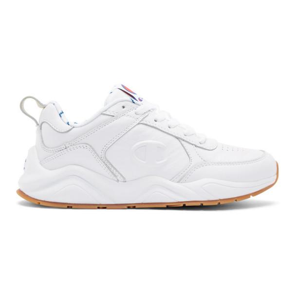 789cf2b3f Champion Reverse Weave Champion Reverse Weave White 93Eighteen Sneakers