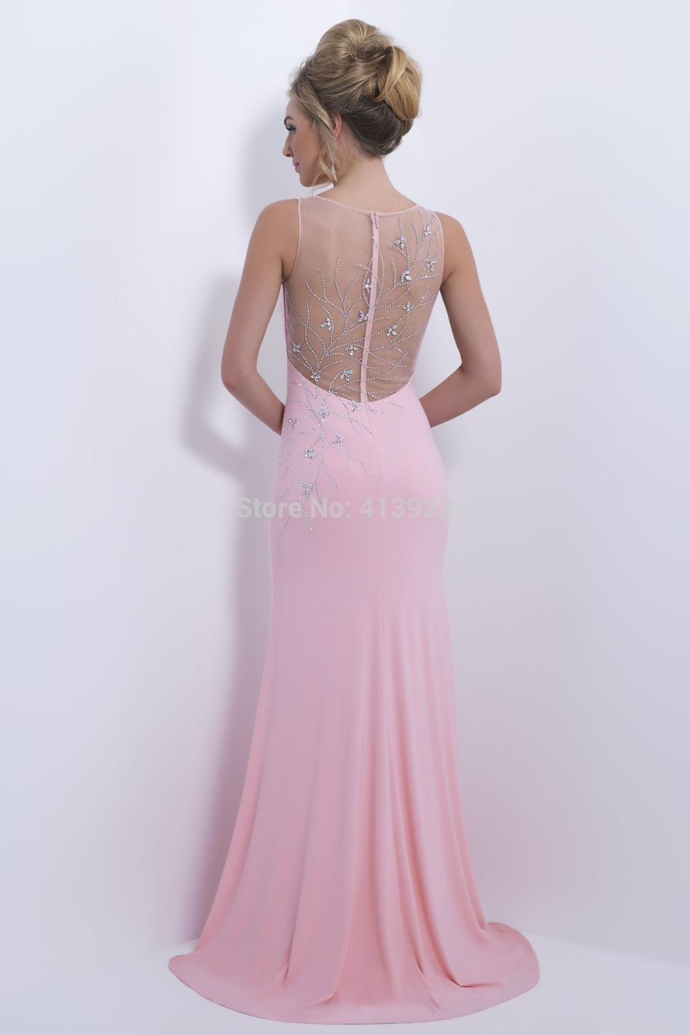 Aliexpress.com : Buy Free Shipping Appliques Scoop Neck Backless 2014 New Arrival Special Occasion Dresses Long Elegant Prom Dresses Vestido De Renda from Reliable dresses dress up suppliers on Chaozhou City Xin Aojia dress Factory