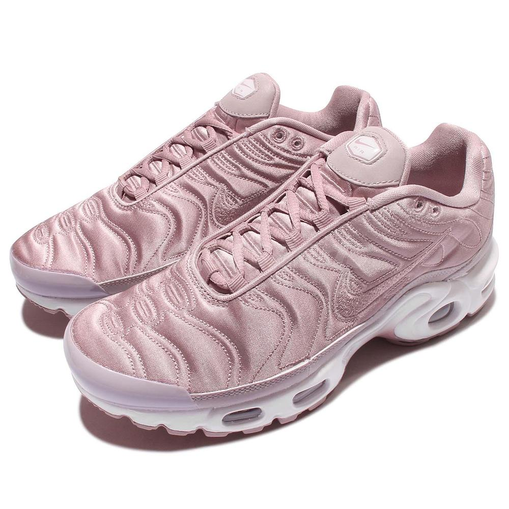 nike air max plus Rosa satin