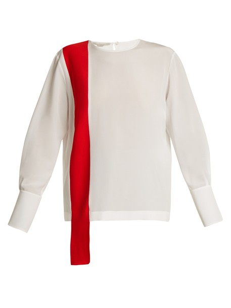Stella McCartney top silk white