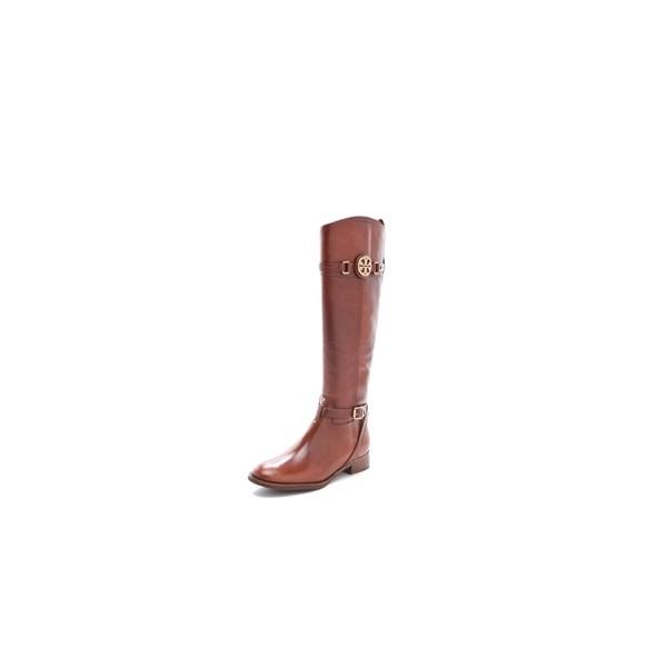 5191af1e7047 Tory Burch Almond Calista Riding Boots - Sale