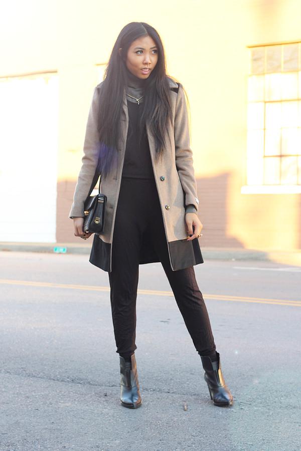 fashion of a novice pants shoes