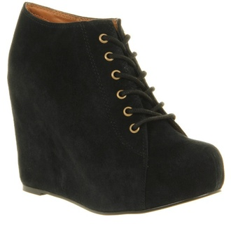 shoes shoes black wedges black wedges ankleboots suede boots